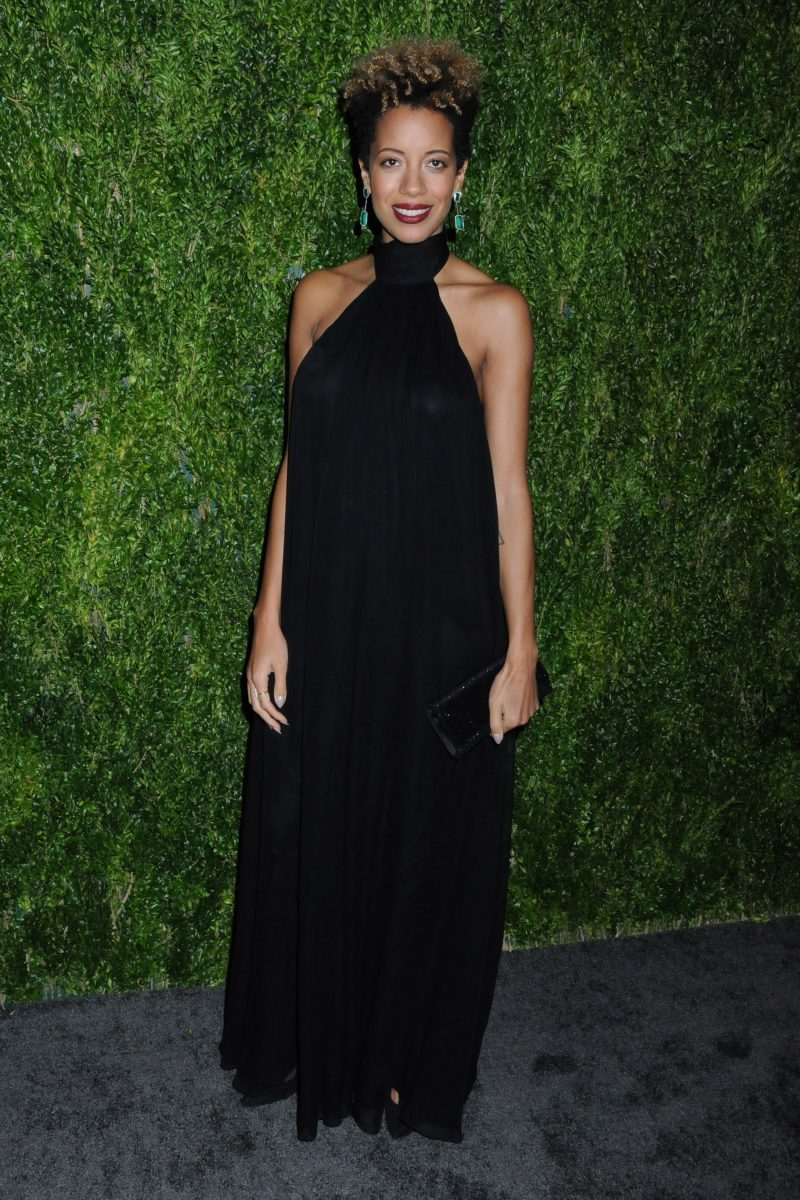 Carly Cushnie 15th Annual CFDA/Vogue Fashion Fund 2018, held in the Brooklyn Navy Yard in Brooklyn, New York
