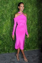 Grace Mahary 15th Annual CFDA/Vogue Fashion Fund 2018, held in the Brooklyn Navy Yard in Brooklyn, New York
