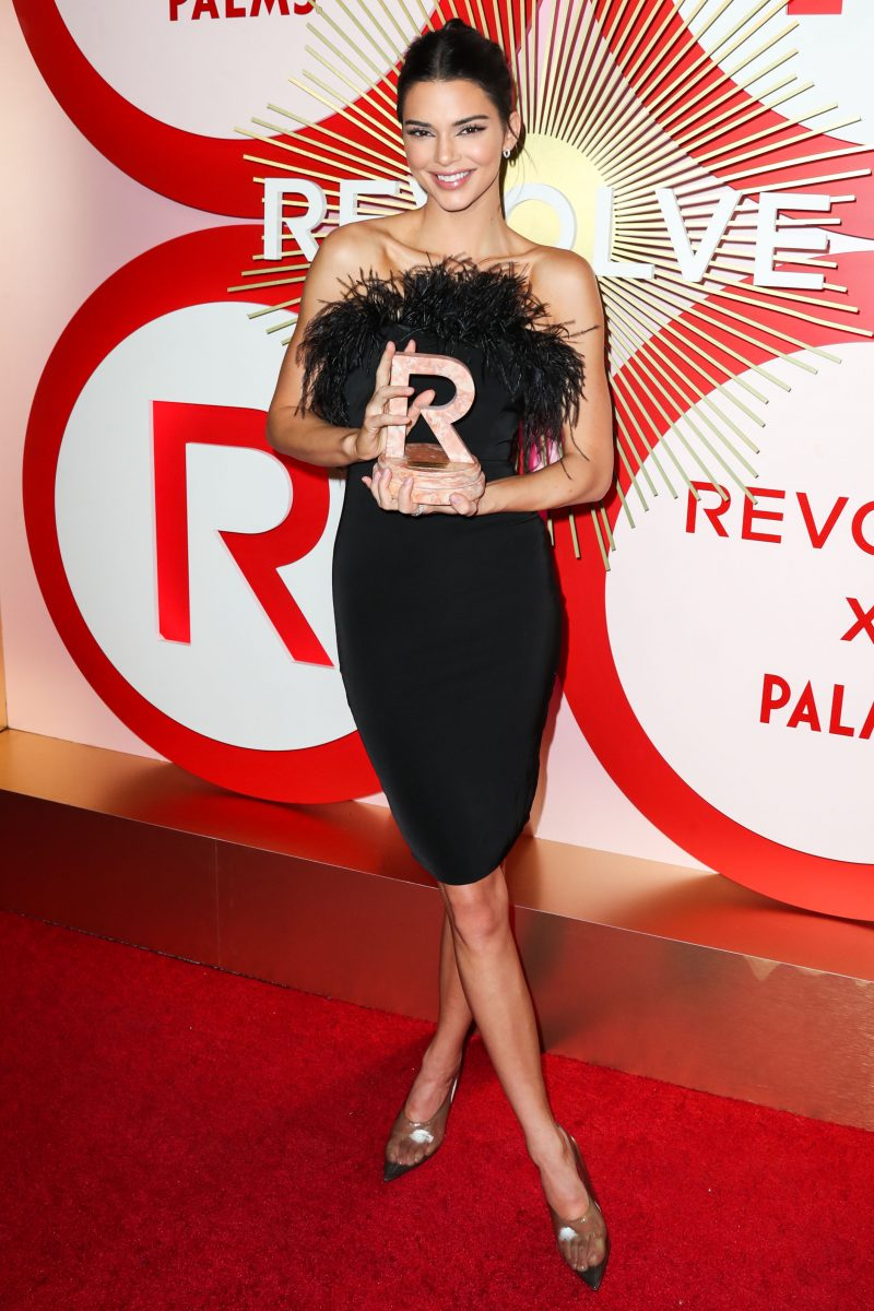 Kendall Jenner 2nd Annual #REVOLVEawards held at the Palms Casino Resort on November 9, 2018 in Las Vegas