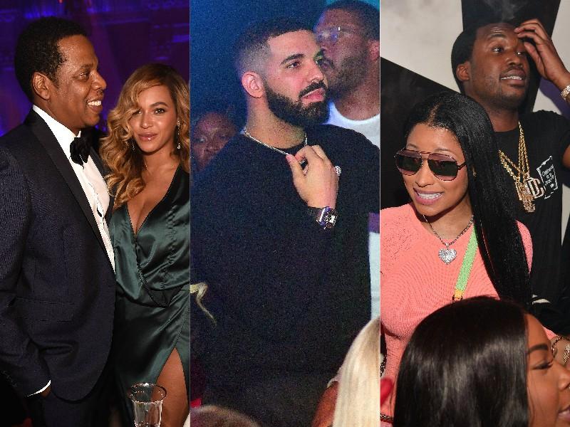Meek Mill Jay-Z Beyonce Nicki Minaj