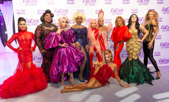 Contestants attend Meet the Queens of RuPaul's Drag Race All...