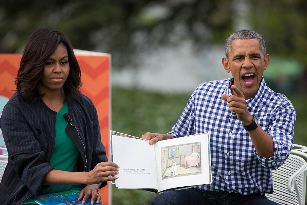 Barack Obama Michelle Obama book