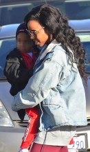 Kelly Rowland and son Titan Jewell