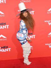 Erykah Badu attends the What Men Want Los Angeles Premiere