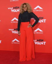 Mary J. Blige attends the What Men Want Los Angeles Premiere