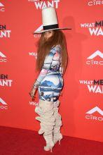 Erykah Badu attends What Men Want Los Angeles Premiere