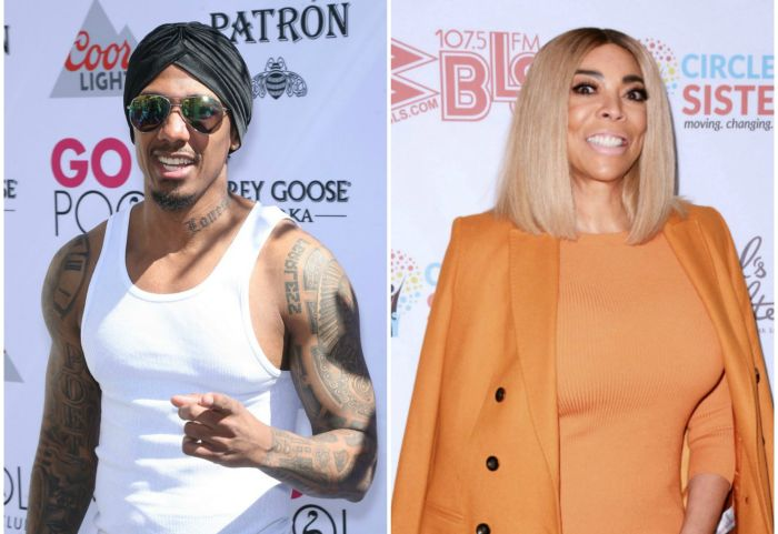 Nick Cannon Wendy Williams side-by-side