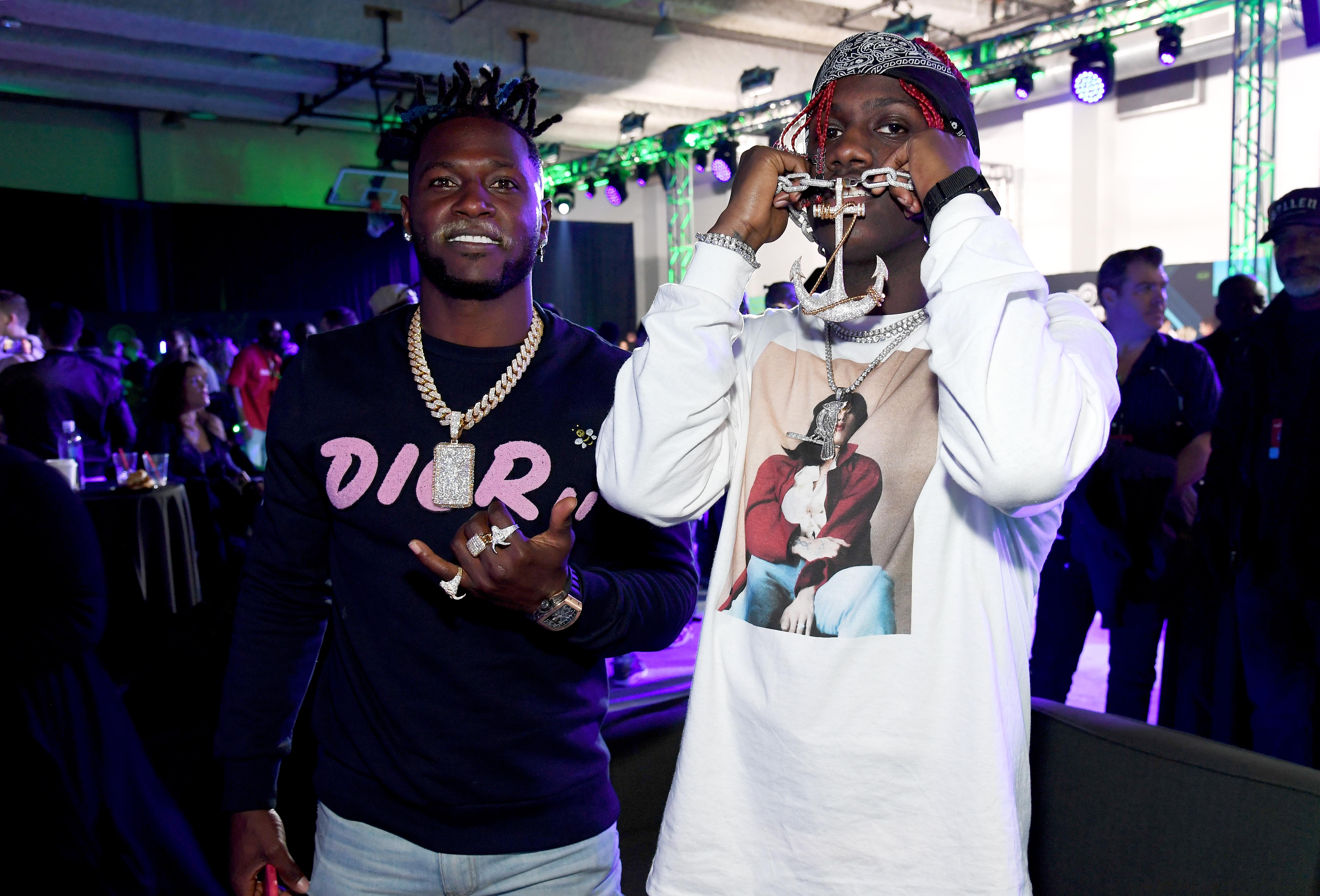 Antonio Brown, Lil Yachty 2019 Bud Light Super Bowl Fest/ EA Sports Bowl