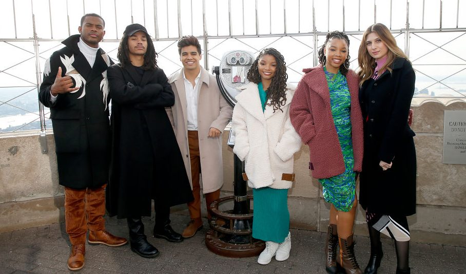 Cast Of 'Grown-ish' Visits The Empire State Building