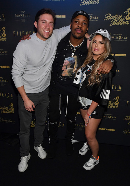 Brielle Biermann and Jeremy Hill E11EVEN X Bootsy Bellows