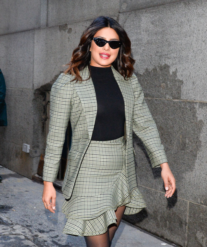 Celebrity Sightings In New York City - February 13, 2019
