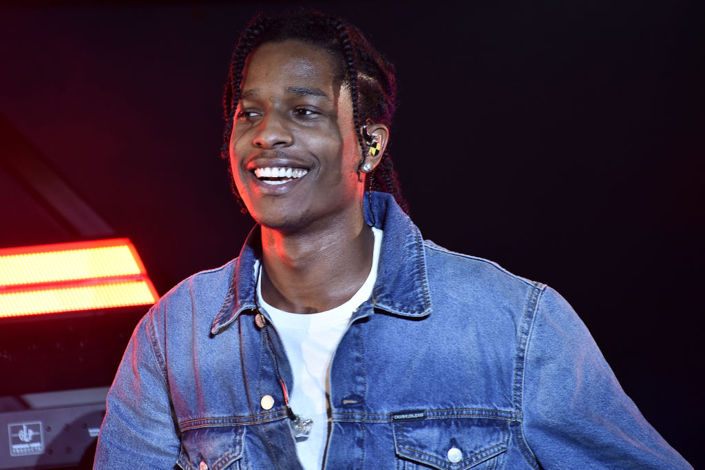 Calvin Klein Jeans X Amazon Fashion Launch NYC Market With A$AP Rocky Surprise Performance