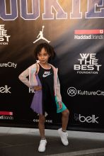 Victor Cruz and Elaina Watley's daughter Kennedy Cruz Rookie USA Fashion Show