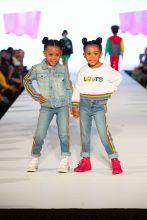 Ava and Alexis McClure aka McClure Twins Rookie USA Fashion Show