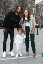 Grizzlies Mike Conley and Family Rookie USA Fashion Show