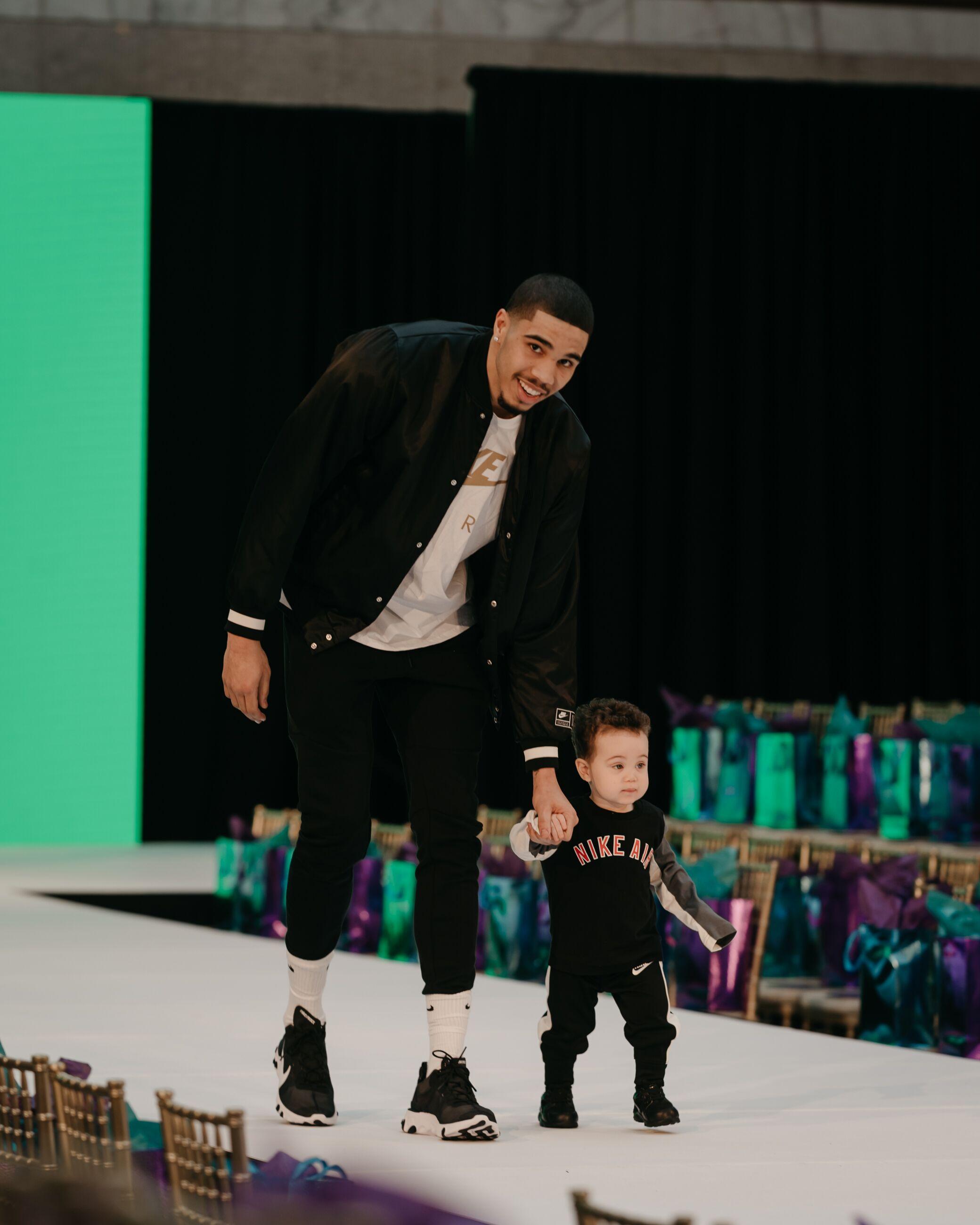 Jayson Tatum and Deuce Rookie USA Fashion Show