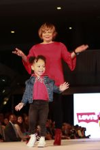 Charlotte Mayor Vi Lyles and granddaughter Hailey Rookie USA Fashion Show