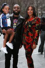 Darian Stewart and family Rookie USA Fashion Show