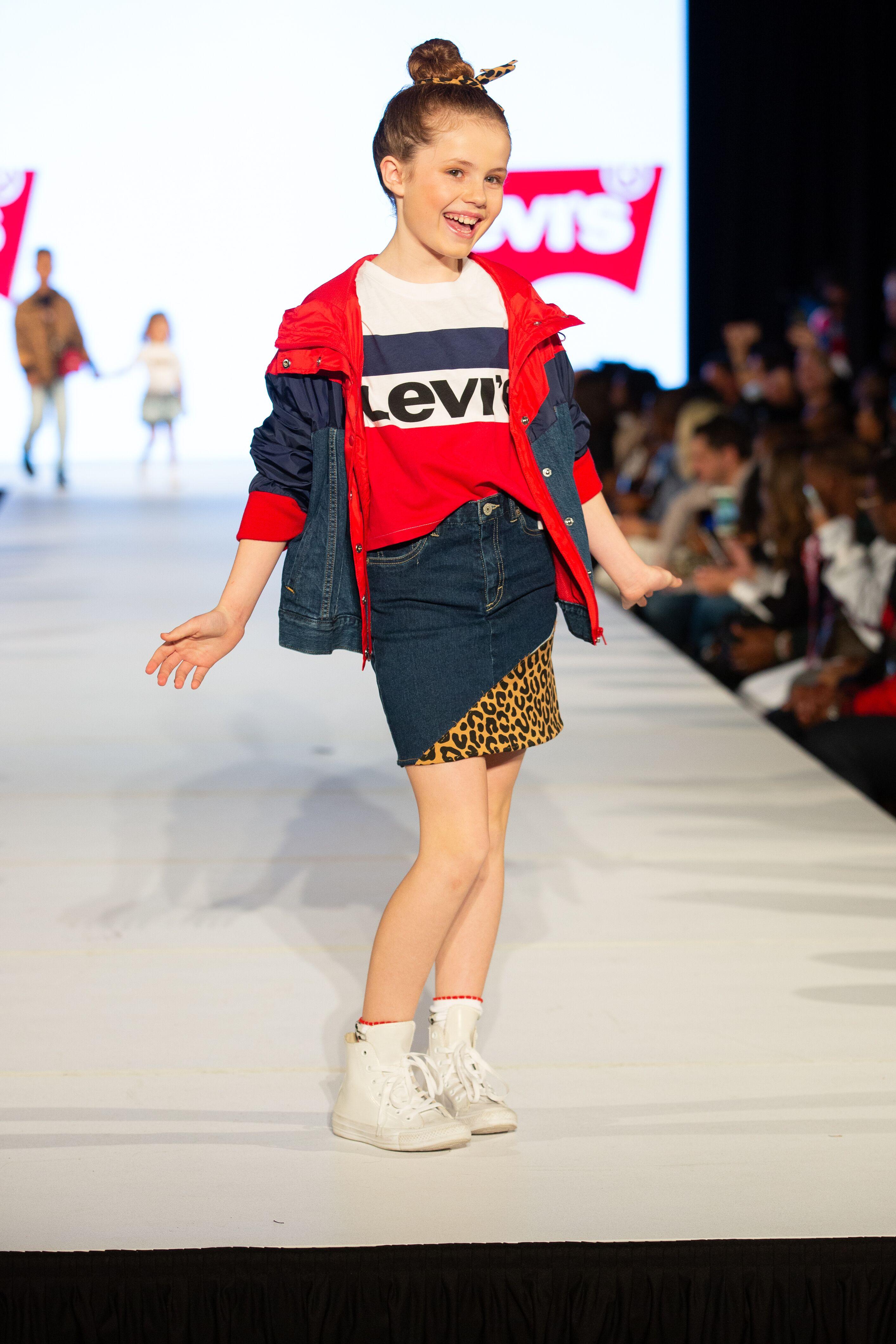 Darby Camp Rookie USA Fashion Show