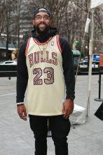 Marcus Jordan Rookie USA Fashion Show