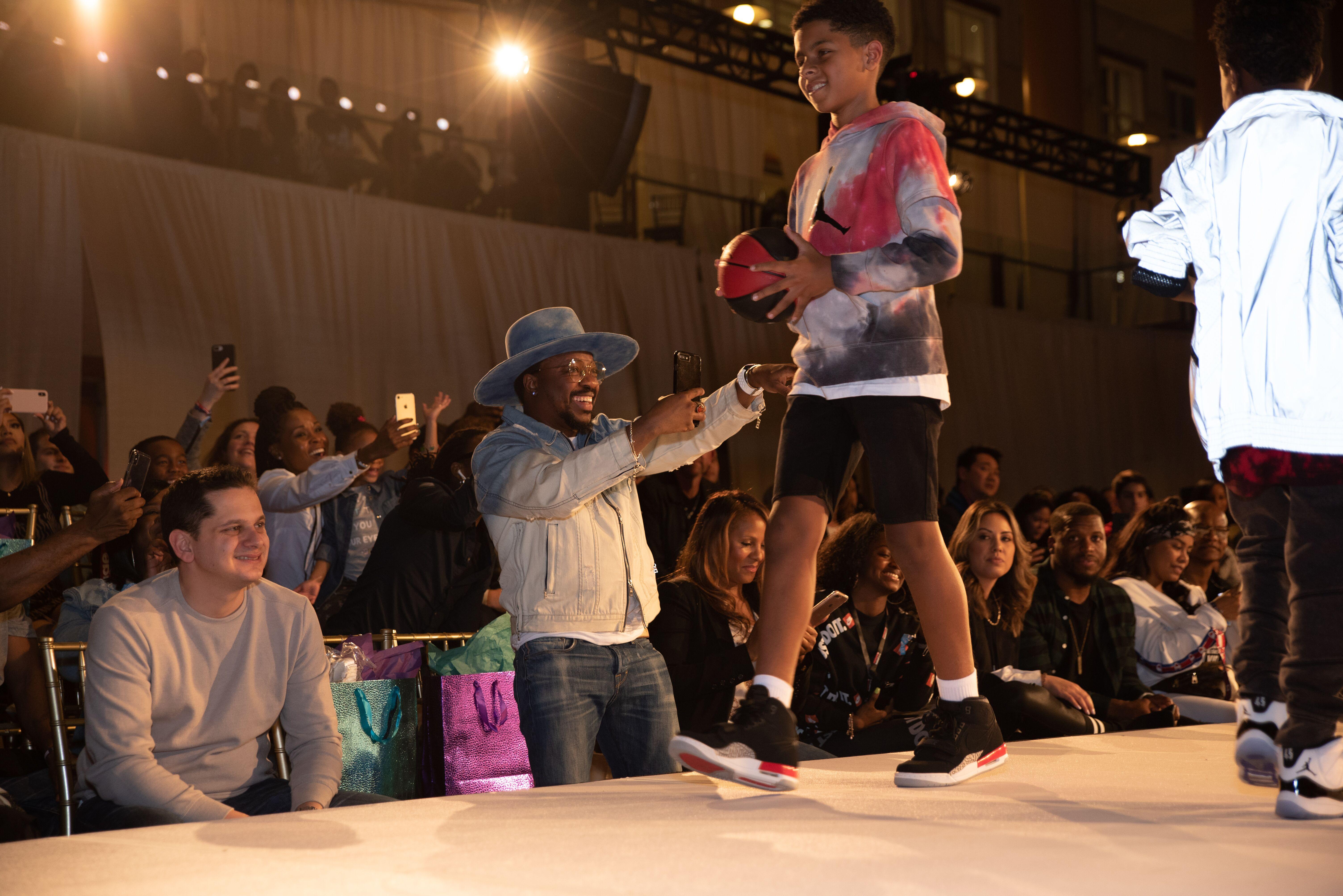 Anthony Hamilton Rookie USA Fashion Show