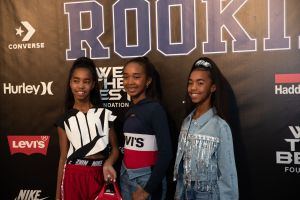 Jessie J, Chance and D'lila Combs Rookie USA Fashion Show