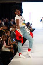 Trinitee Stokes Rookie USA Fashion Show