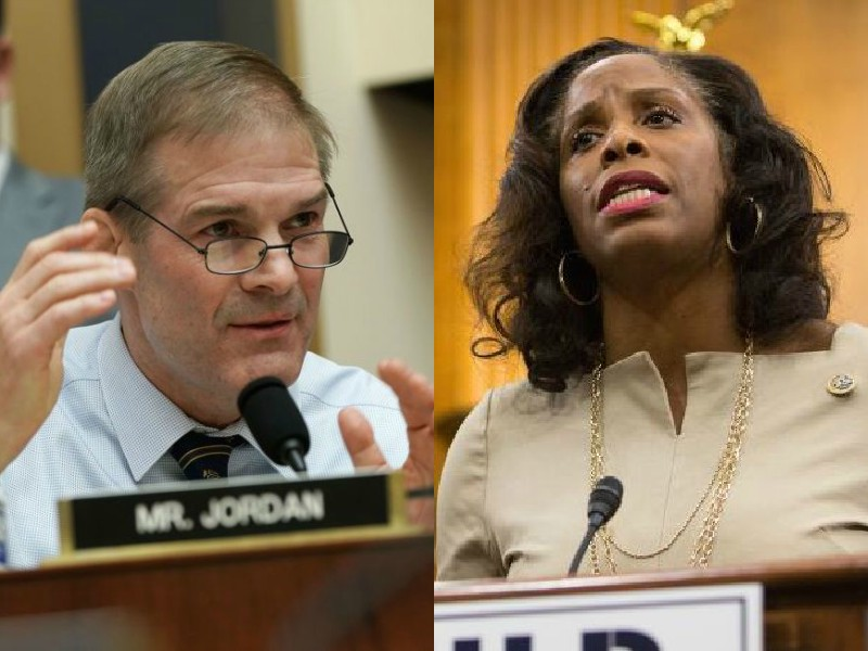 Stacey Plaskett Jim Jordan