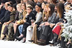 Janelle Monae at Paris Fashion Week Chanel Show