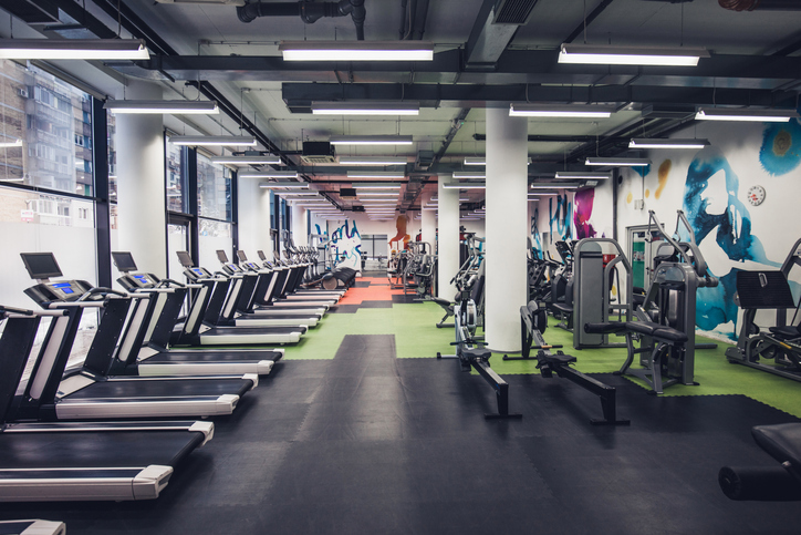 Empty gym!