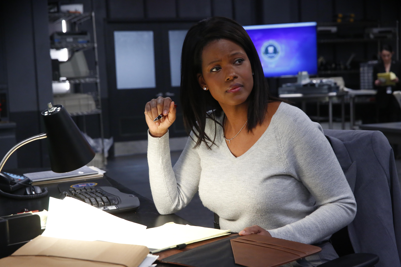 "Cassandra Freeman stars in ""The Enemy Within"""