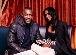 Idris Elba at Fleur Room at Moxy Chelsea