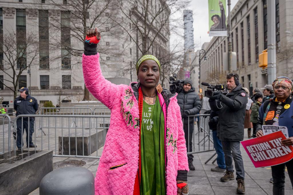 Patricia Okoumou the woman who climbed the Statue Of Liberty...