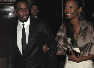 """Sean """"Diddy"""" Combs and Kim Porter"""