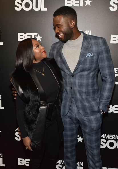 Naturi Naughton and Sinqua Walls