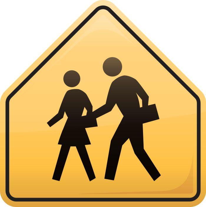 Children Crossing Symbol