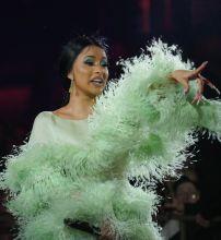 Cardi B Performs at Kaos Dayclub Opening At Palms Casino & Resort