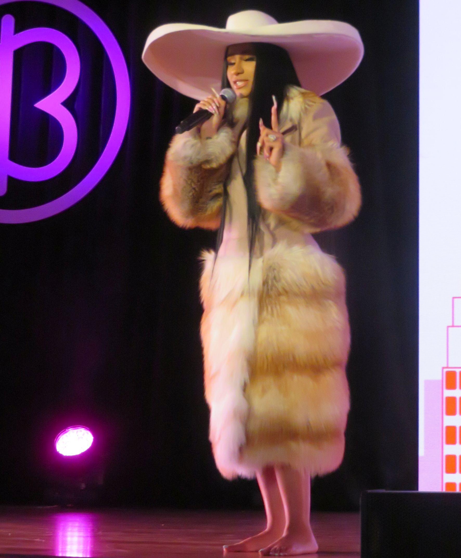 Cardi B at Beautycon Festival 2019 NYC