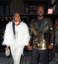 Gabrielle Union and Dwyane Wade 70's inspired retirement party at Catch