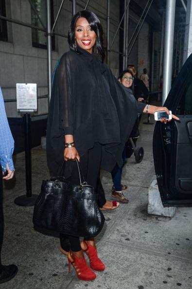 Celebrity Sightings In New York City - October 22, 2013