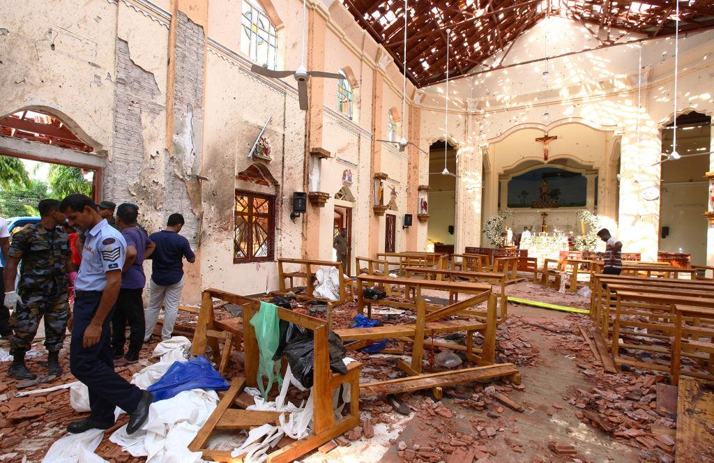 Multiple Explosions Hit Sri Lanka's Capital On Easter