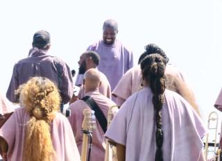 Kanye West Sunday Service At Coachella