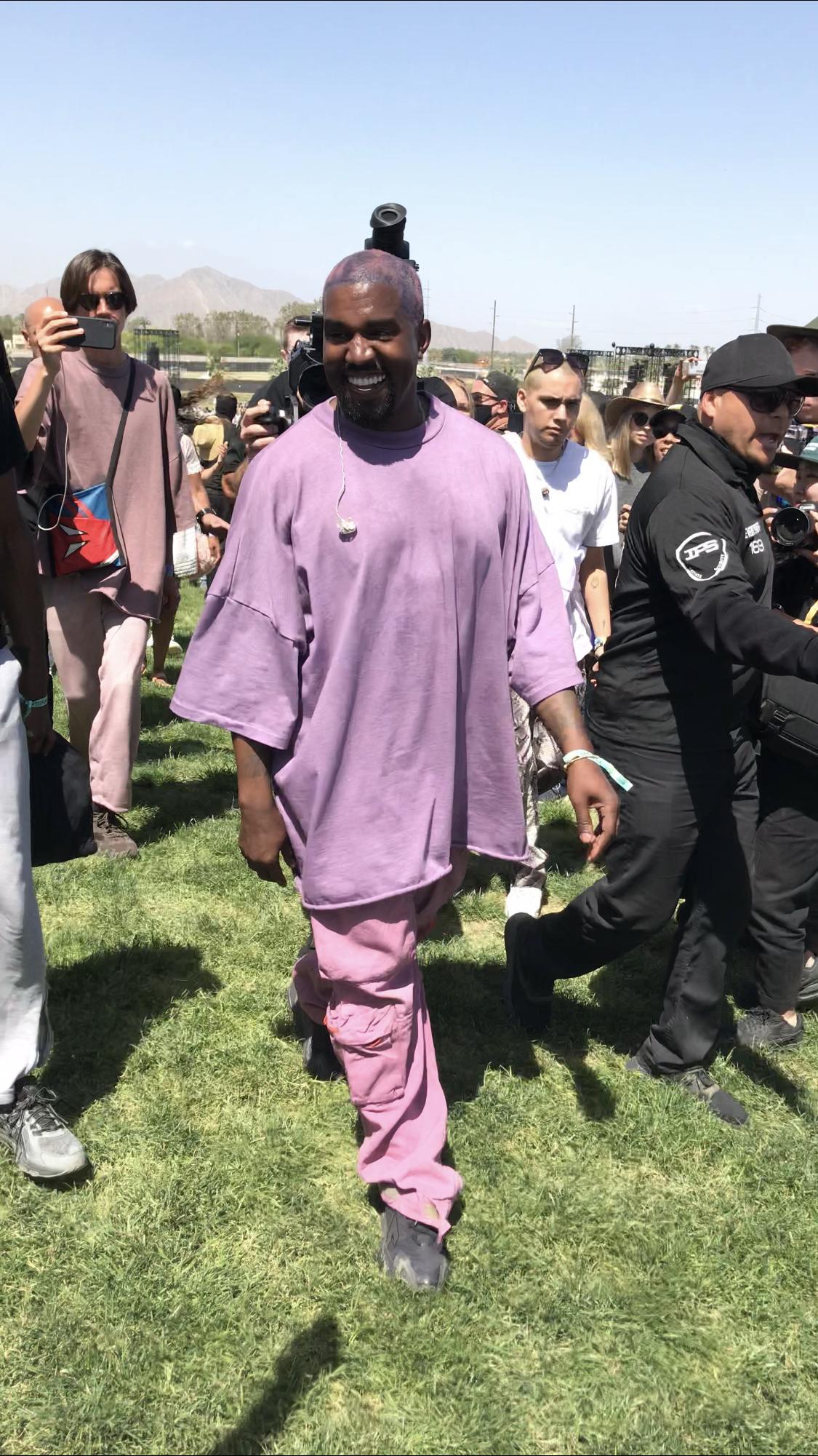 Kanye West Kanye West Sunday Service At Coachella