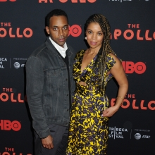 Jaime Lincoln Smith and Susan Kelechi Watson The Apollo Premiere At The Tribeca Film Festival