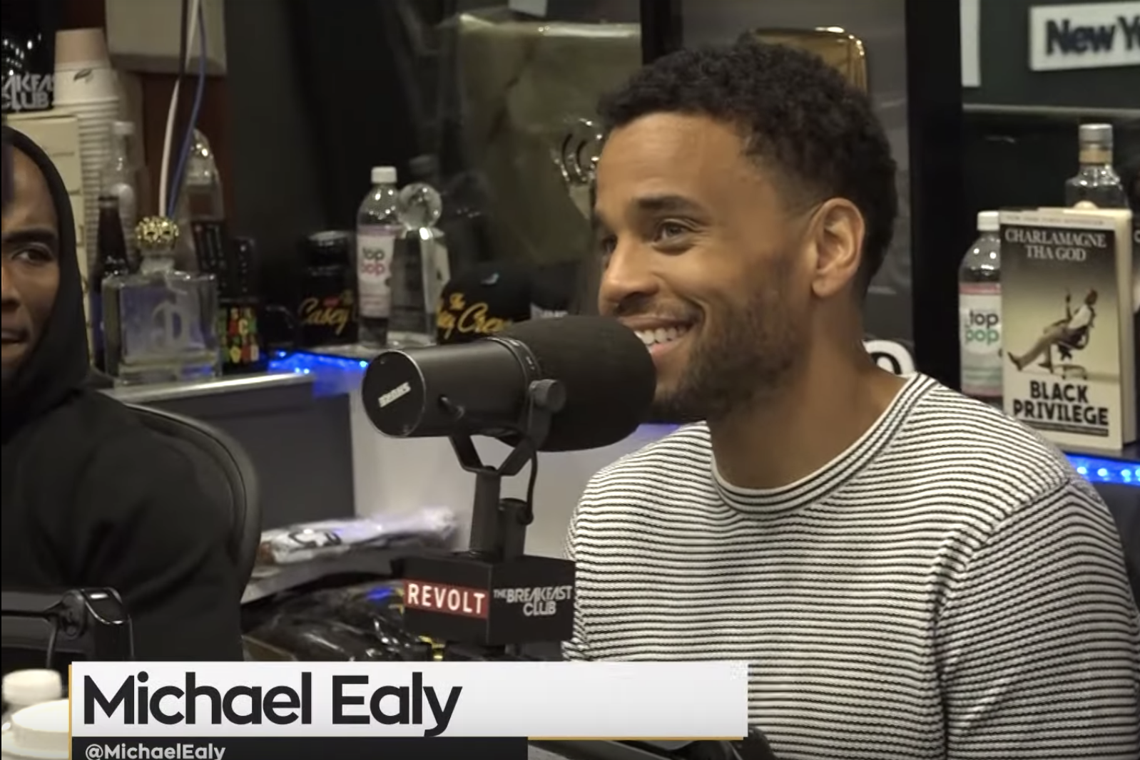 The Breakfast Club Michael Ealy