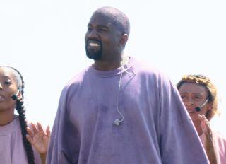 Kanye West Sunday Service Coachella performance pictures