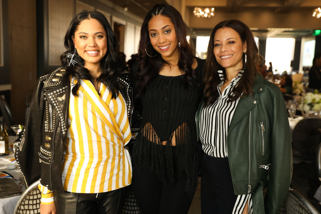 Ayesha Curry, Sydel Curry and Sonya Curry