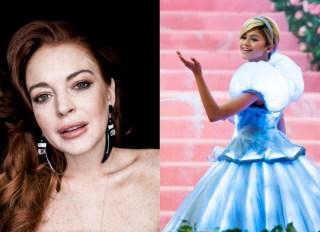 Lindsay Lohan Dragged For Zendaya Comment