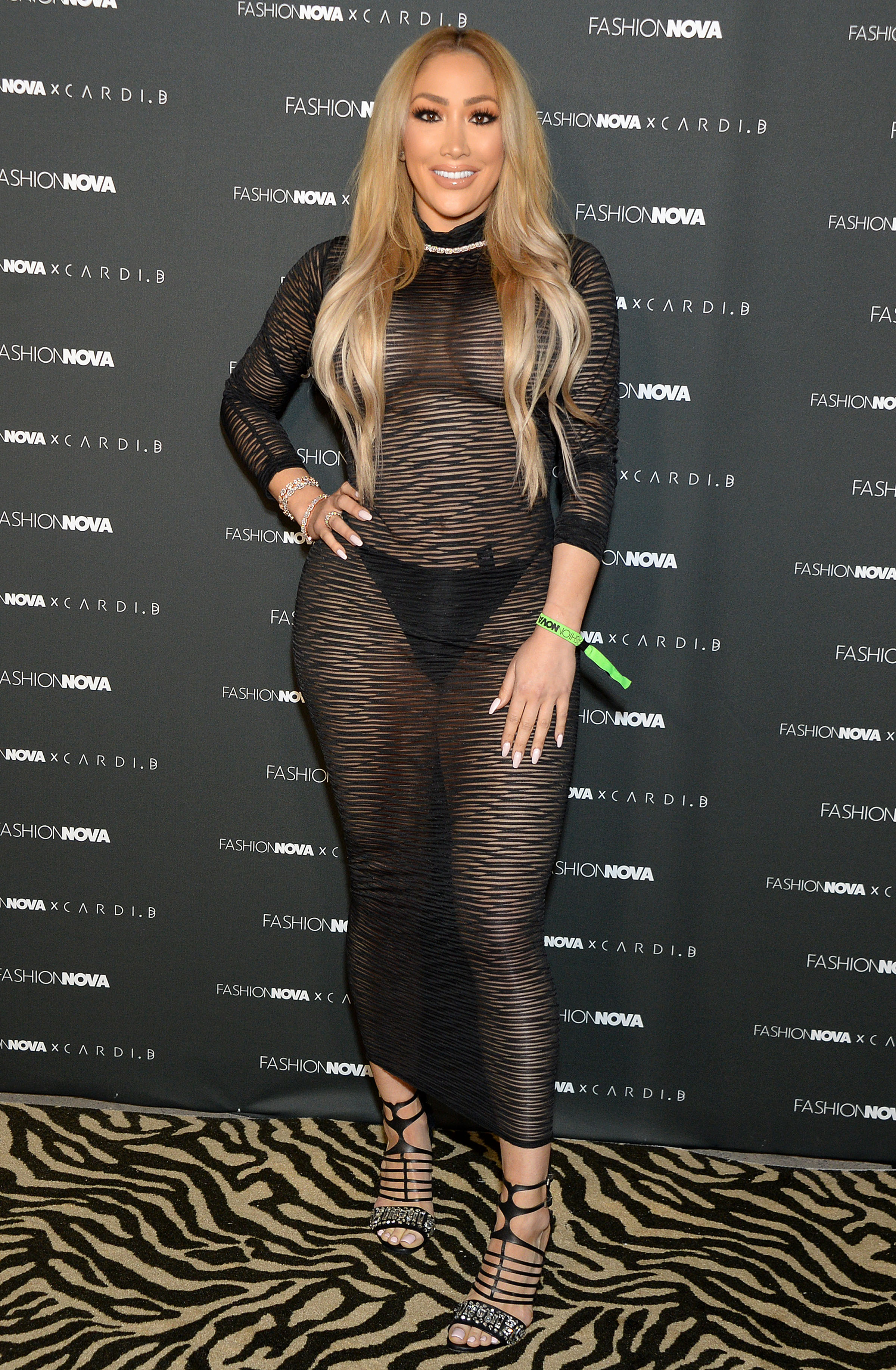 Nikki Baby The Fashion Nova x Cardi B Collection Launch Event
