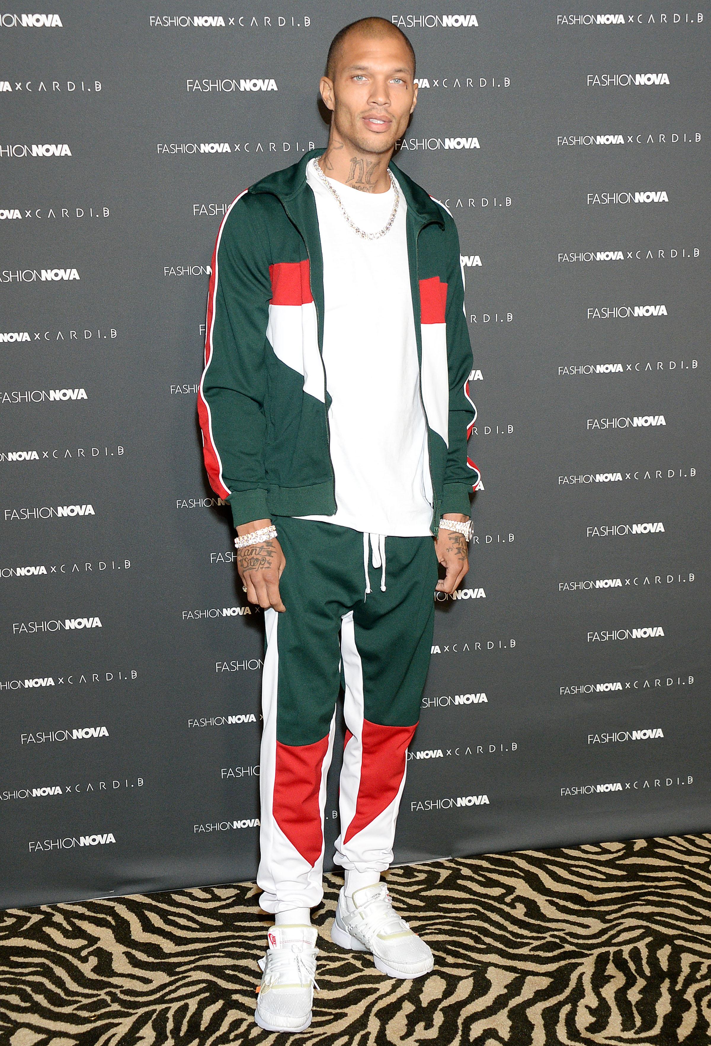 Jeremy Meeks The Fashion Nova x Cardi B Collection Launch Event